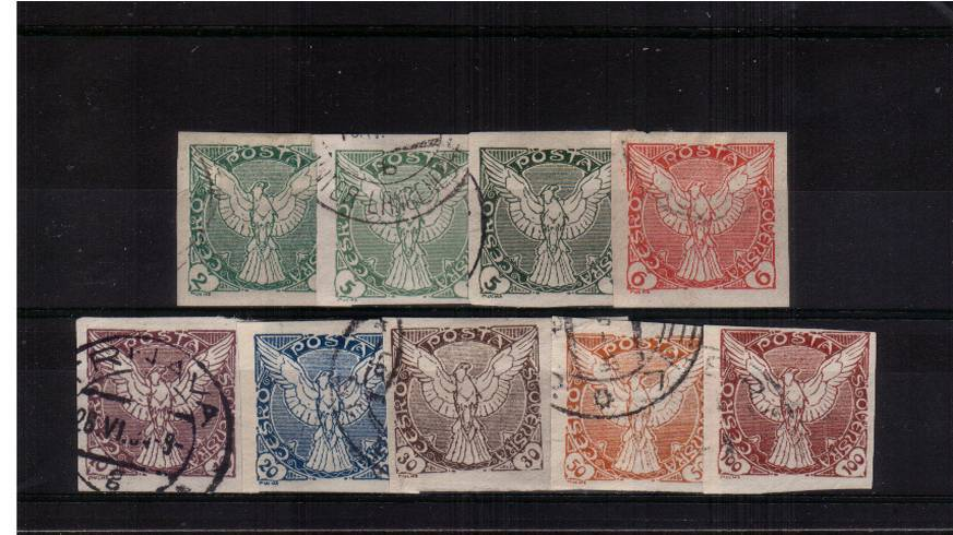 NEWSPAPER stamps - IMPERFORATE<br/>