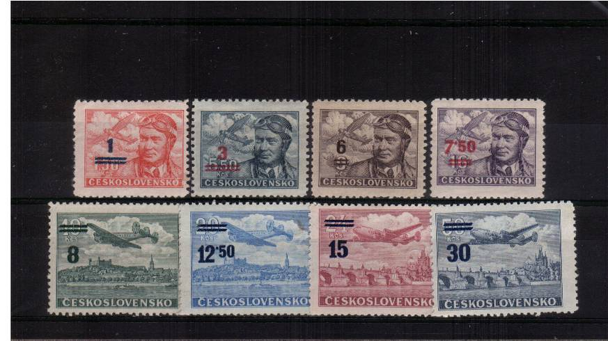 The AIR set of eight superb unmounted mint<br/>SG Cat �.00