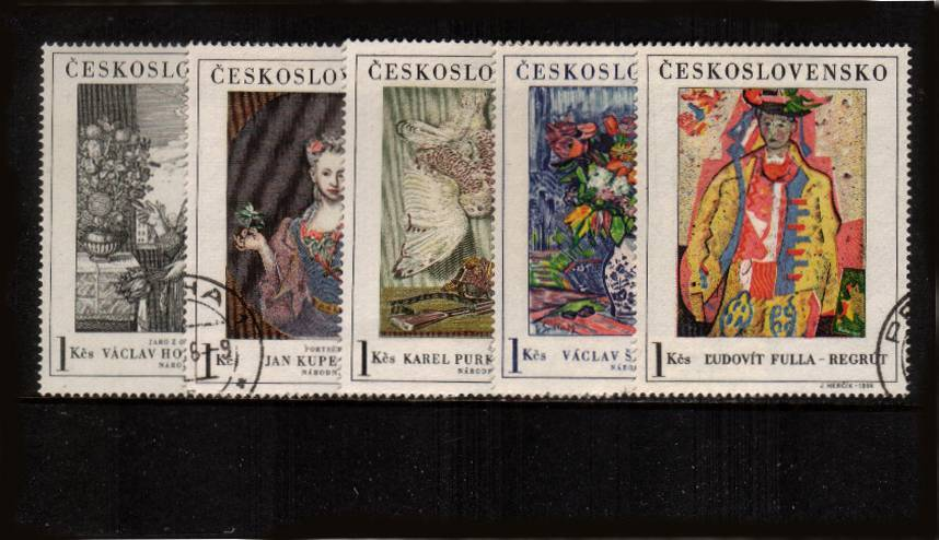 ART - 1st Series set of five.<br/>