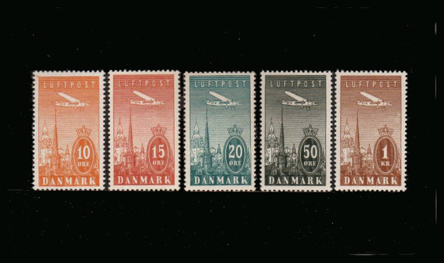 The AIR set of five superb unmounted mint.