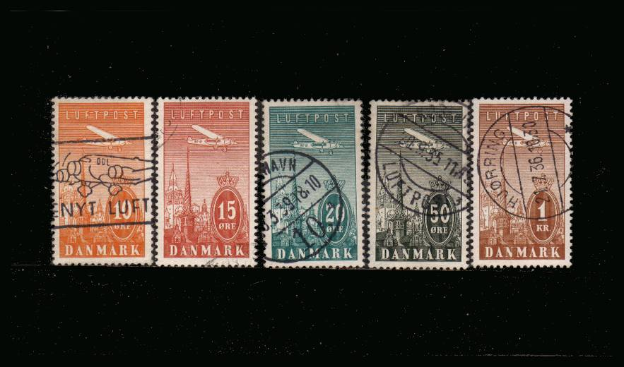 The AIR set of five superb fine used