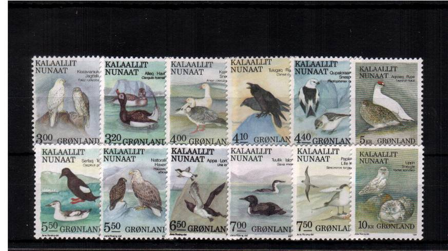 The Birds set of twelve superb unmounted mint. SG Cat �