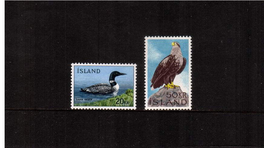 Birds definitive set of two superb unmounted mint. SG Cat �