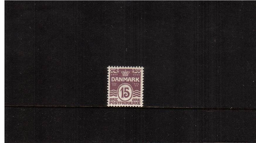 15or Mauve - Perforation 12� Comb