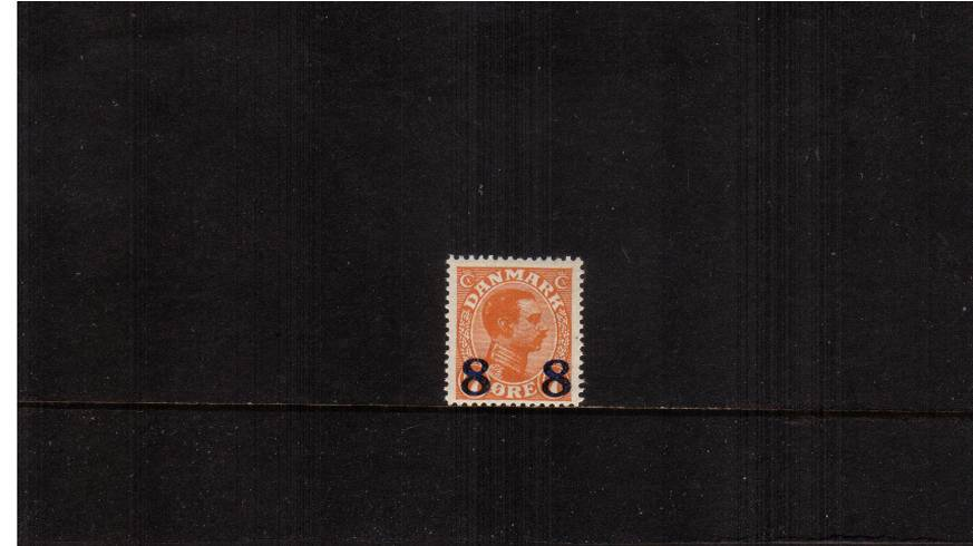 8or on 7or Orange - King Christian X 