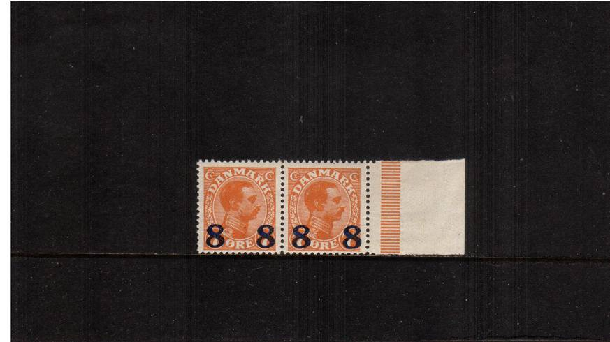 8or on 7or Orange - King Christian X<br/>