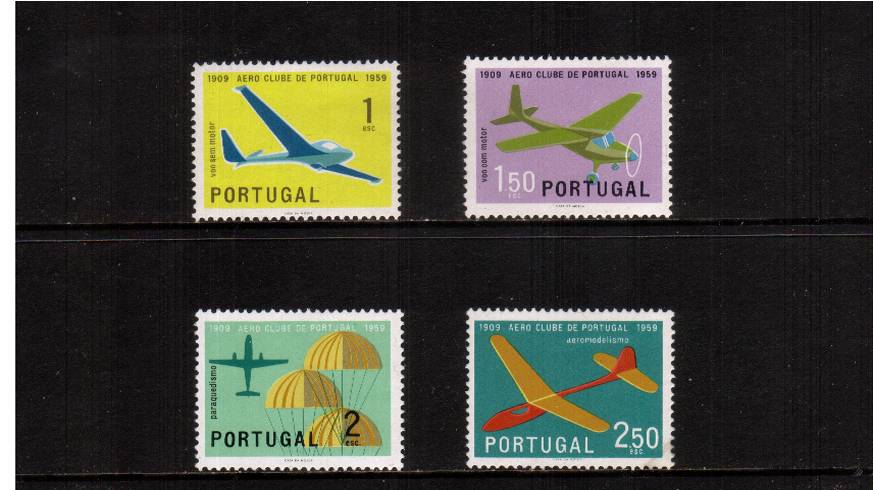 Portugese Aero Club set of four