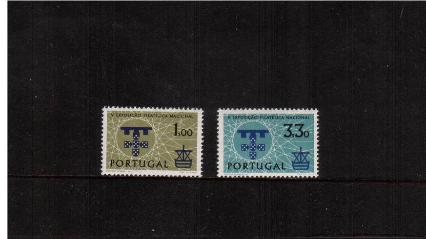 National Philatelic Exhibition<br/>A superb unmounted mint set of two. SG Cat �35