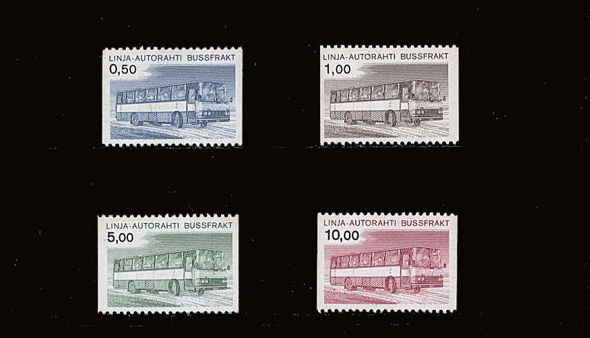 The ''Post Bus'' set of four superb unmounted mint<br/>SG Cat £19