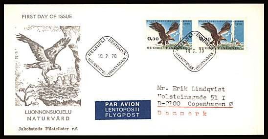 Nature Conservation Year - Eagle Bird single as a pair