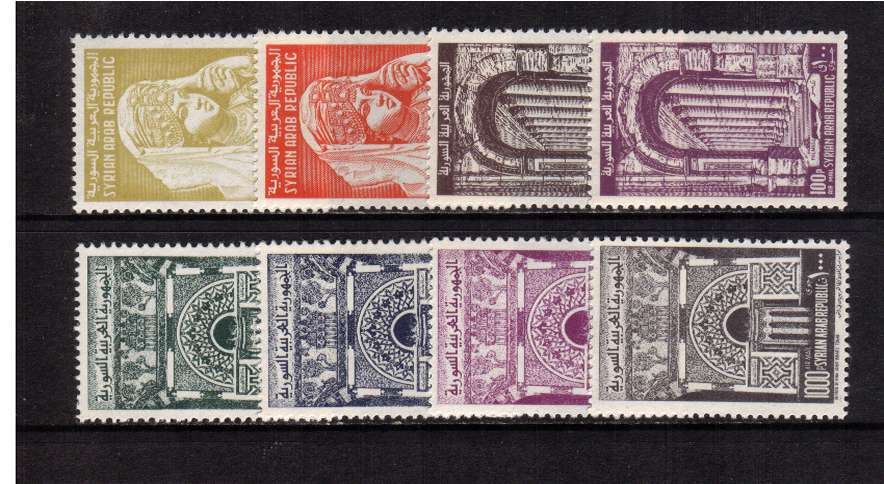 Definitive - Airmails set of eight superb unmounted mint.
