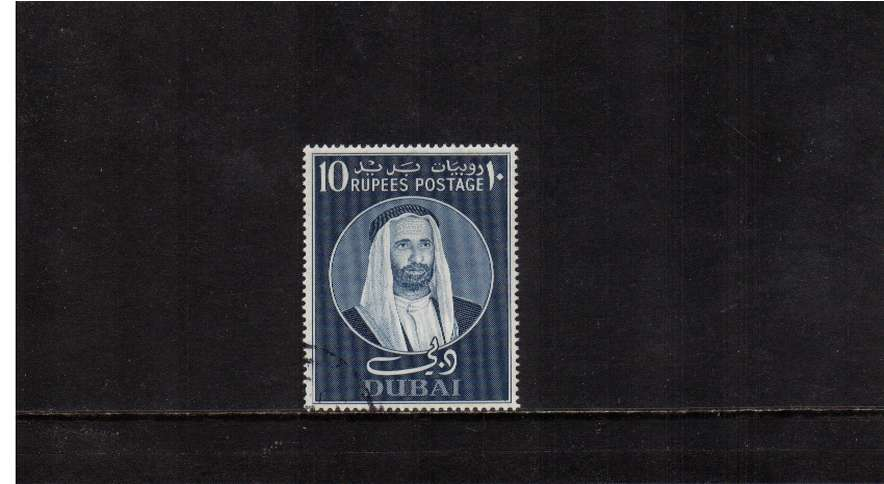 10r Steel Blue - the key value to the set superb fine used.