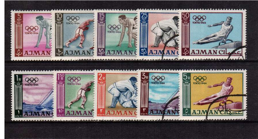 Olympic Games - Tokyo set of ten superb fine used
