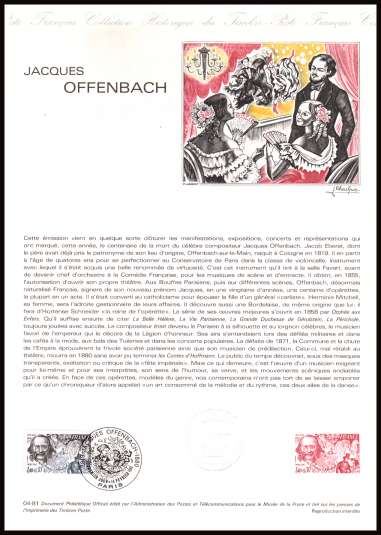 Red Cross Fund - Jacques Offenbach