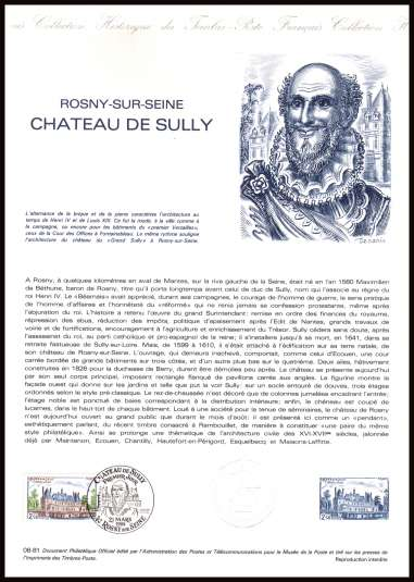 Tourist Publicity - Chateau de Sully