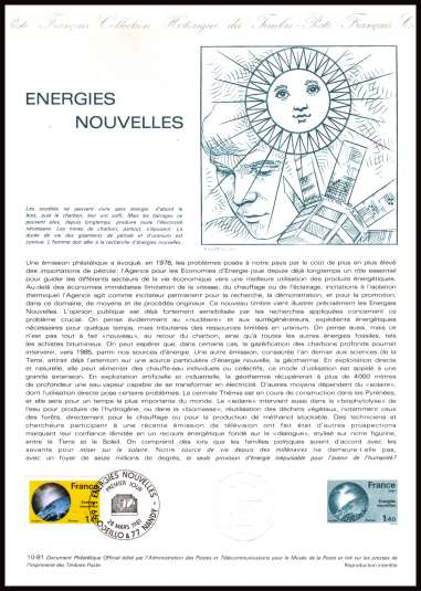 Technology - New Energy Sources 