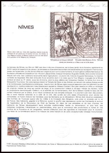Tourist Publicity - Nimes