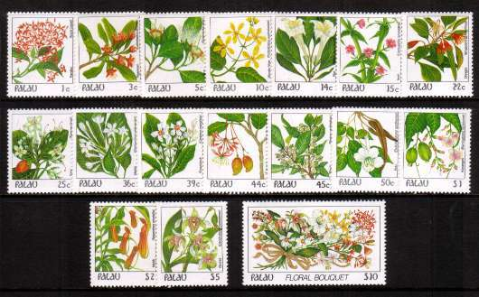 Flowers definitive set of seventeen superrb unmounted mint.