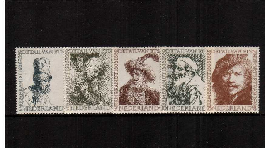Cultural and Social Relief Fund and 350th Anniversary of Rembrandt<br/>