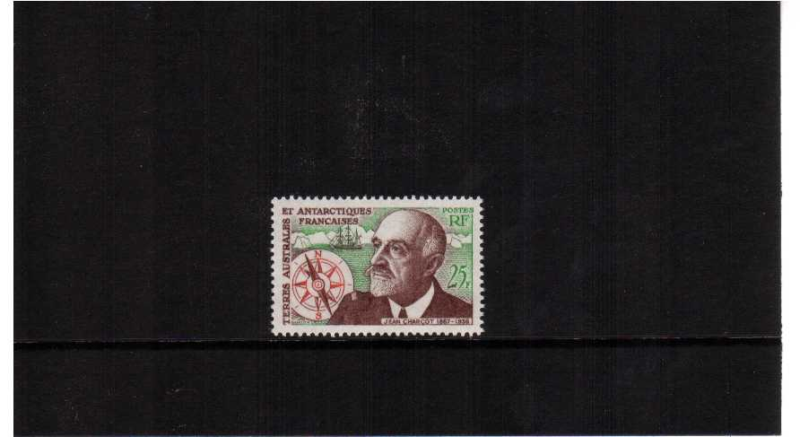 Disappearance of Jean Charcot single superb unmounted mint.