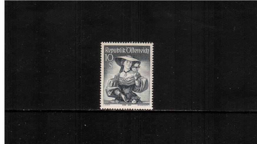 10s Grey  ''Provincial Costumes'' <br/>The ''Top value'' of the definitive set superb unmounted mint.