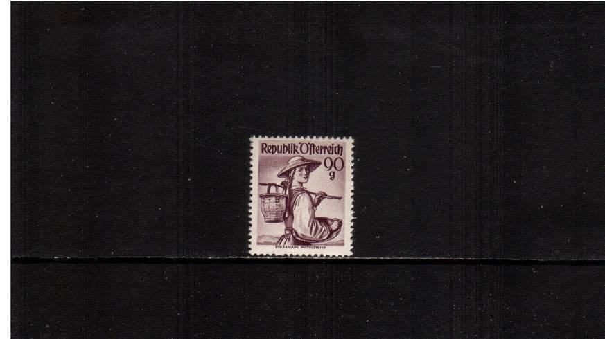 90g Brown-Purple  ''Provincial Costumes'' <br/>