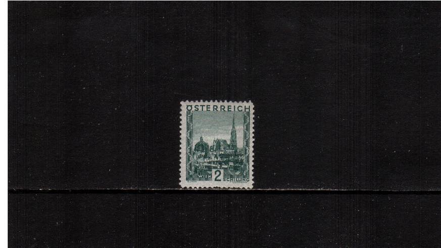 2s Green ''Views'' definitive single - 21x25絤m<br/>
