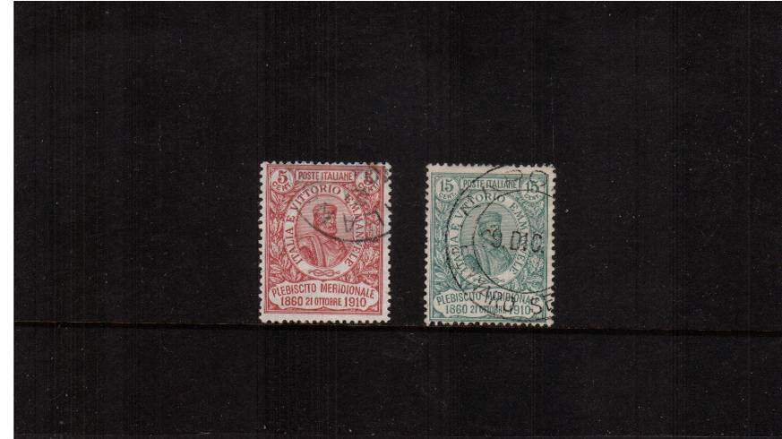 National Plebiscite of Southern States.<br/>A superb fine used set of two. SG Cat �5