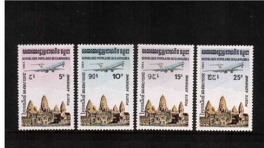 Air set of four superb unmounted mint.<br/>SG Cat �