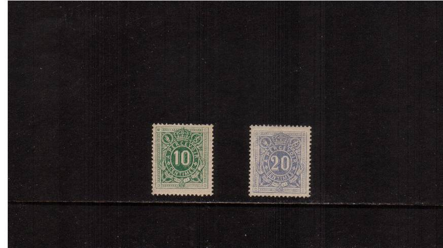 The POSTAGE DUE set of two.<br/>The 10c is unmounted and the 20c is very lightly mounted.<br/>SG Cat �5