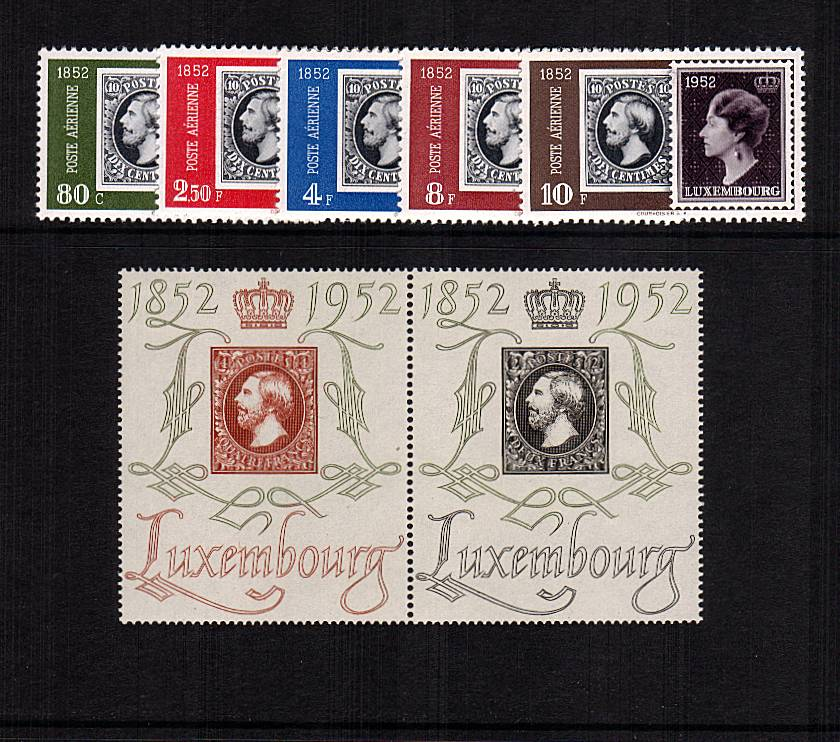 National Philatelic Exhibition and Centenary of Luxembourg stamps<br/>